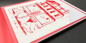 """Illustration """"Das 10. Haus"""""""